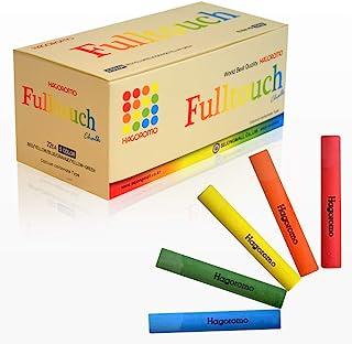 HAGOROMO Fulltouch 彩色粉笔 1 盒,*,无尘 [72 件] 1Box (72pcs) 5 Color Mix