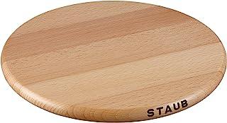 Staub 珐宝 磁性木制圆隔热垫,23cm