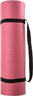Silly.con Fit & Fun 14013 - 带肩带的健身和瑜伽垫,粉色,NBR - 橡胶,约 173 x 61 x 1 厘米