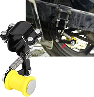 Delaman 链条张紧器,可调节摩托车链张紧器,链长改良链条调节器张器,通用,适合大多数摩托车