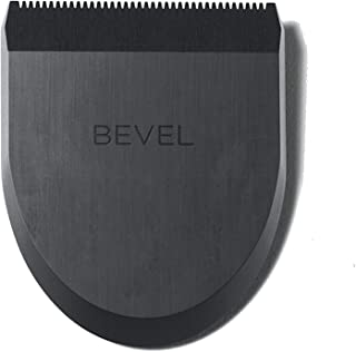 Bevel 方形修剪刀头 - 男士胡须修剪器,精确线束,面部、头和身体修剪和剃须,适用于各种*类型,可与斜角修剪器一起使用 - 黑色