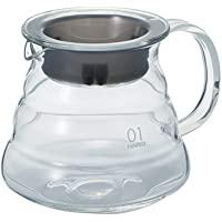 HARIO 好璃奥 V60 云朵咖啡壶 玻璃 冲泡咖啡壶茶壶 XGS-36TB 360ml