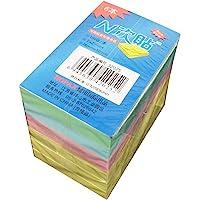 HOPAX N次贴 32025 76*51mm 600张/包 模造混色便条纸 模造黄3本 模造粉1本 模造蓝1本 模造绿…