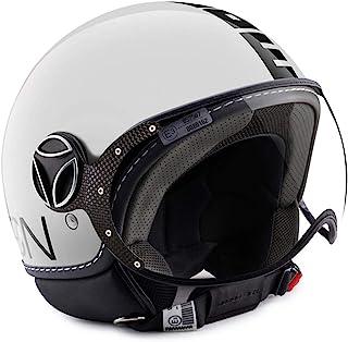 MomoDesign MOMO FGTR 经典飞镖头盔 白色 / 黑色 ML (58)