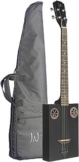 JN 吉他系列 4 弦原声吉他,右,木炭,全铁煤