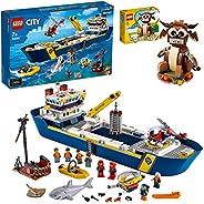 LEGO 乐高 城市系列 海洋探险队 海洋探险巨轮 60266 附带丑年迷你套装