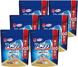 finish 洗碗机洗涤剂 袋洗 清洁力强 L 100个× 6 (600次的量)