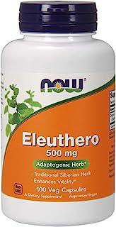 NOW Foods 诺奥 刺五加 膳食补充剂 500 毫克 100 粒素食胶囊