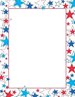 优质纸张! 红色边框字母,21.59x27.94 cm,80 片