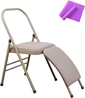 INNOLIFE Veocore 瑜伽辅助椅带腰背支撑可折叠平衡训练带紫色瑜伽阻力带