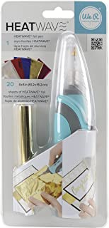 American Crafts We R Memory Keepers 热能笔入门配套 包括 20 张 4 x 6 英寸(约 10.2 x 15.2 厘米)的金属薄片