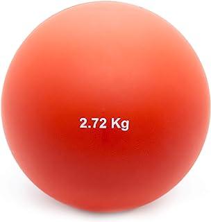 Crown Sporting Goods 2.72 千克(6 磅)室内射球投球球 - 室内田径场质量投球球,适合室内练习和轻型训练,适合男孩和女孩。