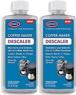 除垢器(2 包,每瓶 2 次使用) - 通用清洁器和除垢解决方案,适用于 Keurig、Nespresso、Delonghi、Breville 和所有单人咖啡和浓缩咖啡机 - 美国制造