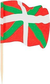 Garcia de Pou 国旗插画 Euskadi 包装盒,木质,多色,4 x 2.5 x 6.5 cm