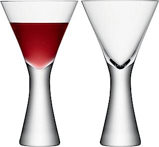 LSA International Moya 香槟色长笛(2 只装),5.7 液盎司 oz, 透明 透明 13.3 fl. oz. G846-14-985