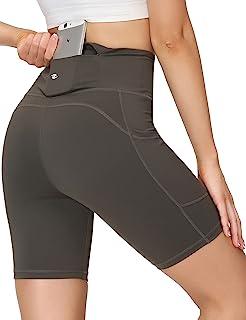 Eyesoul 瑜伽短裤,带口袋