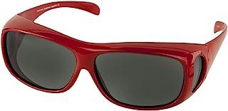 LensCovers 太阳镜佩戴*眼镜-L 码超薄-偏光