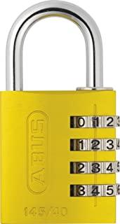 ABUS 145/40 组合挂锁 - 黄色