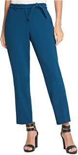 DKNY 女式蓝*束带拉链工作裤尺码 10P