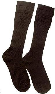 Intrepid International Comfort Top Riding Boot Socks, Adult, Black