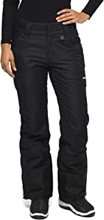 Arctix 女式工装雪裤 X大码 黑色 1830-00-XL -00-X-Large
