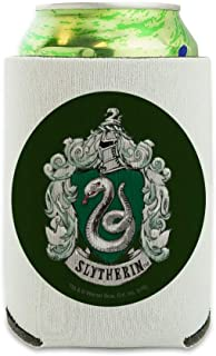 哈利波特 Slytherin 喷绘 Crest 罐装冷却器 - Drink Sleeve Hugger 可折叠隔热器 - 饮料保温架