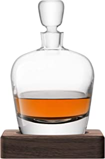 LSA WH01 Whisky Arran *器 1 升透明和胡桃木底座 **