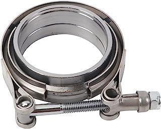 ZZDSNJ 2.5 英寸不锈钢排气管 V 带夹公母接头