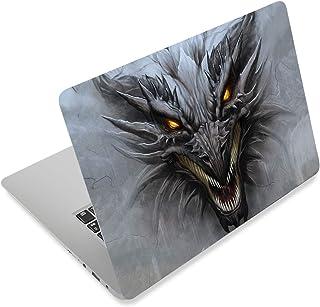 笔记本电脑皮肤贴纸封面贴花适合 12 13 13.3 14 15 15.4 15.6 英寸笔记本电脑保护膜笔记本 | 易于应用、拆卸和改变风格 龙 RI-NEK