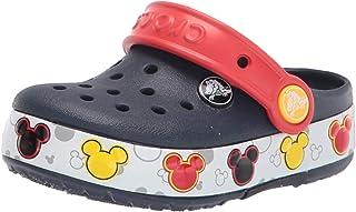 crocs 卡骆驰 Crocband FnLb Lights K 男女通用米奇图案洞洞鞋