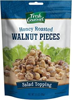 Fresh Gourmet Walnut Pieces, Glazed, 3.5 Ounce (Pack of 9)