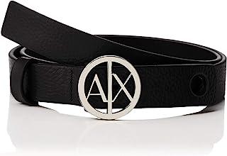 Armani Exchange 女士 Circle Logo 腰带