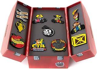 Crash Team 赛车工具箱针徽章套装