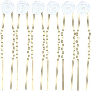 新娘饰品 发夹 玫瑰材质