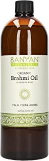Banyan Botanicals 芝麻油 - USDA Organic 认证 - 阿育吠陀皮肤和护发油,含积雪草和假马齿苋 - *心灵