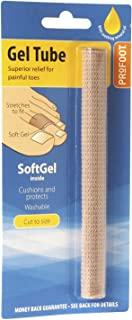 Profoot Softgel 脚趾管 – 可切割脚趾管 – 缓解因鞋类、玉米、老茧和脚趾酸痛而引起的不适