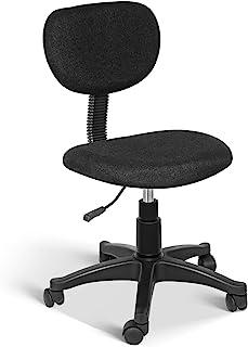 Simple Deluxe 办公椅 人体工程学 网眼 电脑椅 带轮子 可调节高度学习椅 学生 青少年男女 宿舍 家庭办公室 黑色