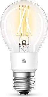TP-Link Kasa Smart Wi-Fi LED 灯泡 灯丝 A19 E26 智能灯泡 软白色 2700K 可调光 无需集线器 兼容 Alexa 和 Google Assistant 复古风格 (KL50)