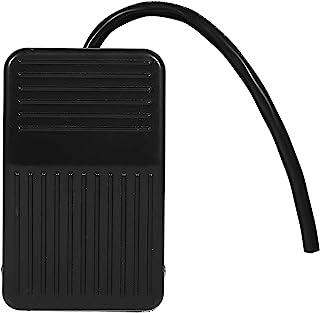 脚踏开关-220V / 380V 电气电源塑料脚踏开关开/关控制黑色 + 10cm 线