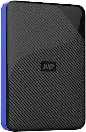Western Digital 西部数据 2TB 游戏驱动器 与Playstation 4配合使用 便携外置硬盘- WDBDFF0020BBK-WESN