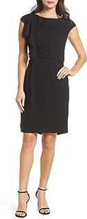 Harper Rose 女式荷叶边紧身连衣裙,尺码 8 - 黑色