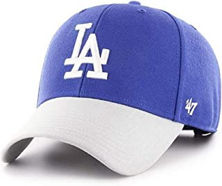 '47 Brand 洛杉矶道奇队 MVP 帽双色宝蓝色/灰色
