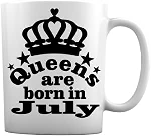 Queens are Born in January,2/March ch,April ,May,June ,July,August,October ,9 月,11 月,12 月,12 月,生日白咖啡杯 Born in July 11 盎司 unknown