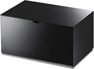 YAMAZAKI Veil 收纳盒,ABS,黑色,单号