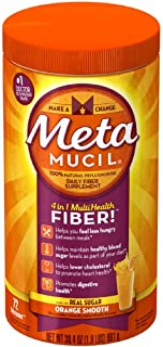 Metamucil 日用纤维补充剂 橙子味 72汤匙 30.4盎司(约780克)
