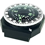 Sun Company GoCompass - Micro Orienteering 手腕指南针   手表带或伞绳手链指…