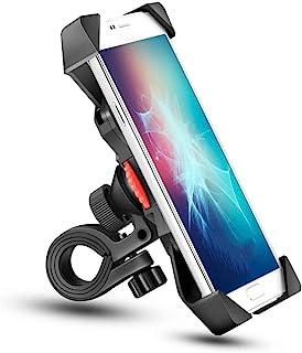 自行车手机支架防摇动通用手机支架,新自行车手机支架,防震稳定 360° 旋转自行车配件,3.5 至 6.5 英寸(约 3.5 至 16.5 厘米)之间的其他设备