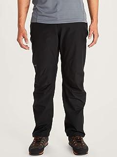 Marmot 男士极简主义硬壳防雨裤