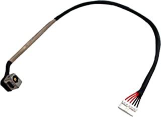 GinTai DC 电源插座线束插座充电端口替换件适用于 MSI GE60 系列 MS-16GA MS1755 MS-1755 GE70 MS1757 MS-1757 MS-1757