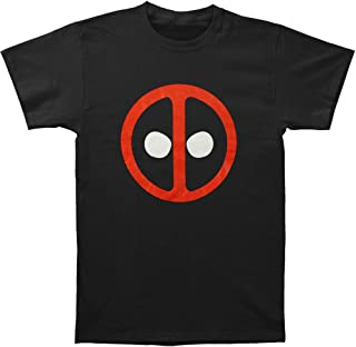 Deadpool - 男式图标 T 恤 黑色//白色 Medium